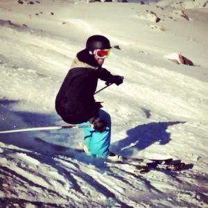 Phil Skiing